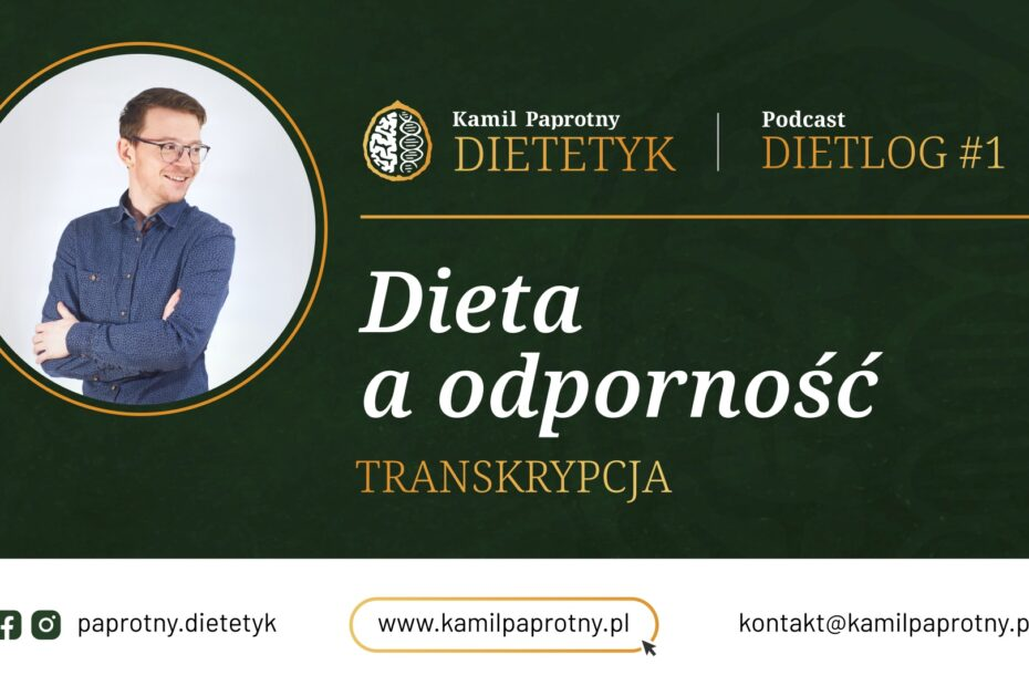dieta a odpornosc
